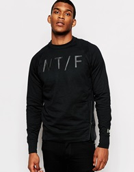 Nike Ntf Asymmetrical Sweatshirt Black
