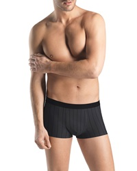 Hanro Shadow Stripes Boxer Briefs Gray