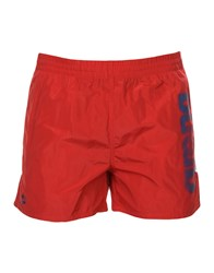 Arena Swim Trunks Red
