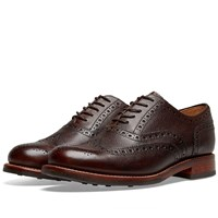 Grenson Stanley Dainite Sole Brogue Brown