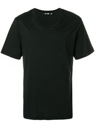 Blk Dnm Rear Logo Print T Shirt Black