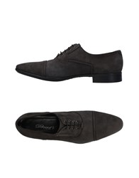 Dibrera By Paolo Zanoli Lace Up Shoes Grey