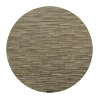 Chilewich Bamboo Round Placemat Dune