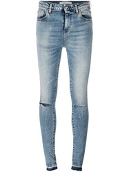 Iro Distressed Skinny Jeans Blue