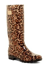 Nicole Miller Rainyday Waterproof Rain Boot Multi