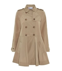 Red Valentino A Line Trench Coat