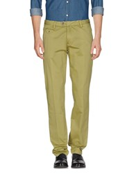 Yes Zee By Essenza Casual Pants Acid Green