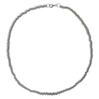 Nina B Loop Chain Necklace Silver