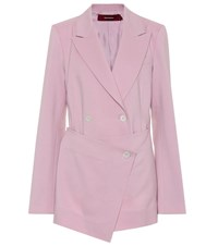 Sies Marjan Double Breasted Blazer Pink