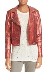 Iro Women's Metallic Leather Jacket