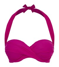 Gottex Surplice Bikini Top C Cup Female Pink