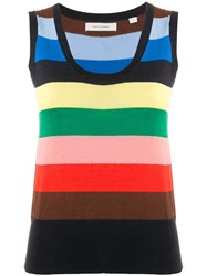Chinti And Parker Striped Tank Top 60