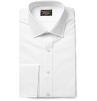 Emma Willis White Double Cuff Cotton Shirt