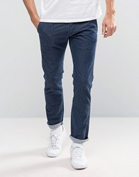 Edwin Ed 71 Red Listed Selvedge Slim Fit Jeans Blue