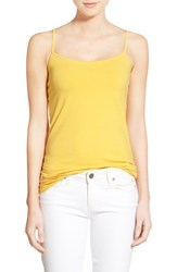 Women's Halogen 'Absolute' Camisole Yellow Mimosa