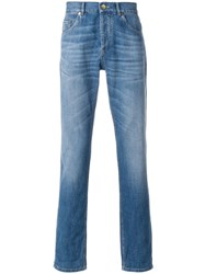 Brunello Cucinelli Straight Leg Jeans Blue