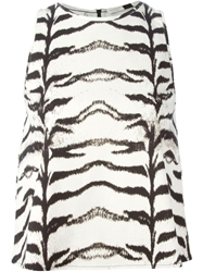 Giambattista Valli Tiger Print Tank Top