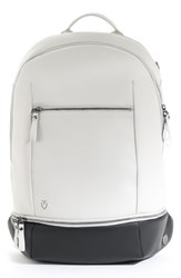 Vessel Signature Backpack White Stone