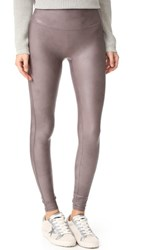 Spanx Faux Leather Leggings Antique Rose
