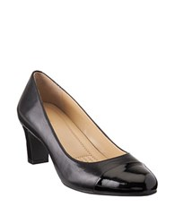 Easy Spirit Raphael Leather Dress Pumps Black