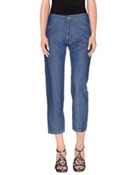 Momoni Momoni Denim Denim Trousers Women Blue