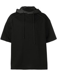 Juun.J The Altered Tech Hoodie Black