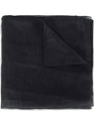 Ermanno Scervino Lightweight Scarf Women Polyester One Size Black