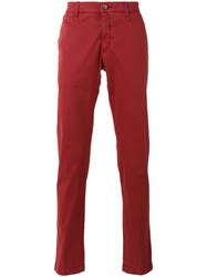 Jacob Cohen Bobby Trousers Red