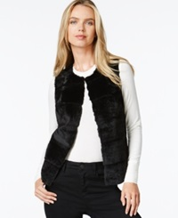 Style And Co. Faux Fur Vest Only At Macy's