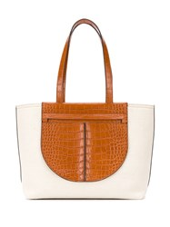 Tod's Leather Panel Tote Bag 60