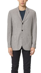 Shades Of Grey Knit Blazer Heathered Grey