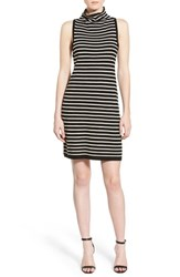 Women's Cupcakes And Cashmere 'Piper' Stripe Sweater Dress