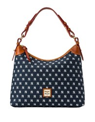 Dooney And Bourke Mlb Yankees Hobo Bag Navy Blue