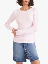 J.Crew Perfect Fit Long Sleeve T Shirt Pink
