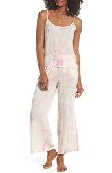 Lacausa Sami Pajamas Berry Wash