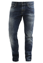 Meltin Pot Martin Slim Fit Jeans Medium Wash Blue Denim