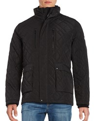 Calvin Klein Diamond Quilted Jacket Black