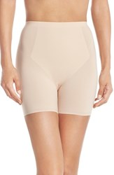 Women's Spanx 'Thinstincts' Girl Shorts Soft Nude
