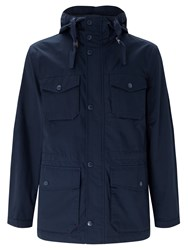 John Lewis Storm Fisherman Jacket Navy