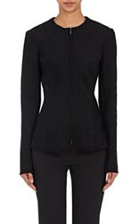 The Row Women's Stanna Boucle Zip Front Jacket Black