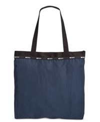 Le Sport Sac Lesportsac Simply Square Tote Classic Navy