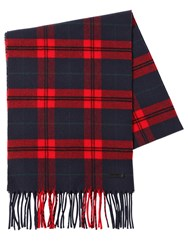 Dsquared Checked Wool And Cashmere Scarf