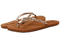 Reef Twisted Stars Tan Champagne Women's Shoes