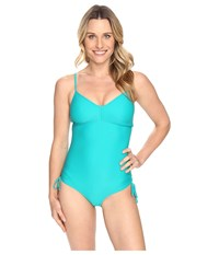 Prana Moorea One Piece Dragonfly Women's Swimsuits One Piece Blue