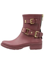 Colors Of California Wellies Bordeaux Dark Red