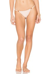 Somedays Lovin Blooming Dunes Bikini Bottom Beige