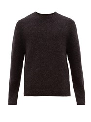 Acne Studios Nosti Crew Neck Sweater Dark Grey