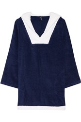 Lisa Marie Fernandez Sailor Cotton Terry Tunic Blue