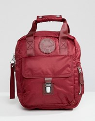Dr. Martens Dr Red Small Flight Backpack Rose Red 149 Nylon 8