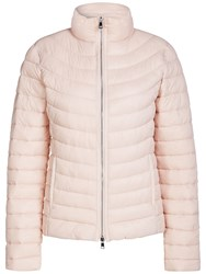 Oui Quilted Faux Down Coat Rose Dust